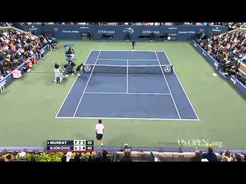 Andy Murray Vs Novak Djokovic US Open 2012 Final Highlights HD!!!