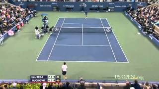 Andy Murray vs Novak Djokovic US Open 2012 Final Highlights HD!!!