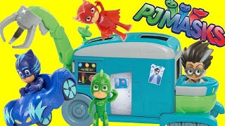 PJ MASKS Romeo's Transforming Lab Playset with Catboy, Owlette & Gekko TOYS