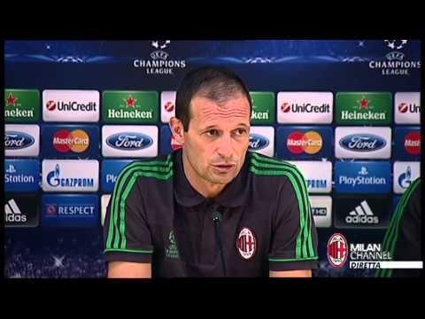 AC Milan I Allegri e Matri: 'Pronti per il riscatto' (with subtitles)