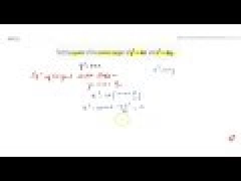 IIT JEE CONIC SECTIONS Find the equation of the common