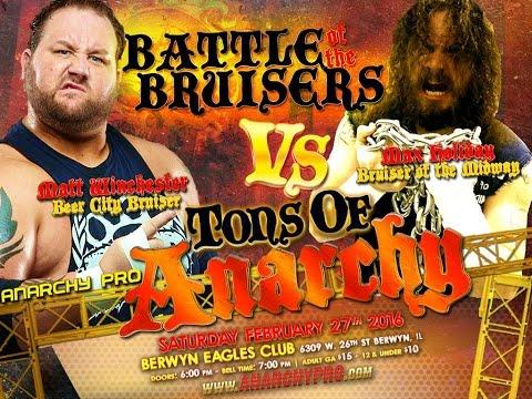 Bruiser vs Bruiser : Max Holiday vs Matt Winchester