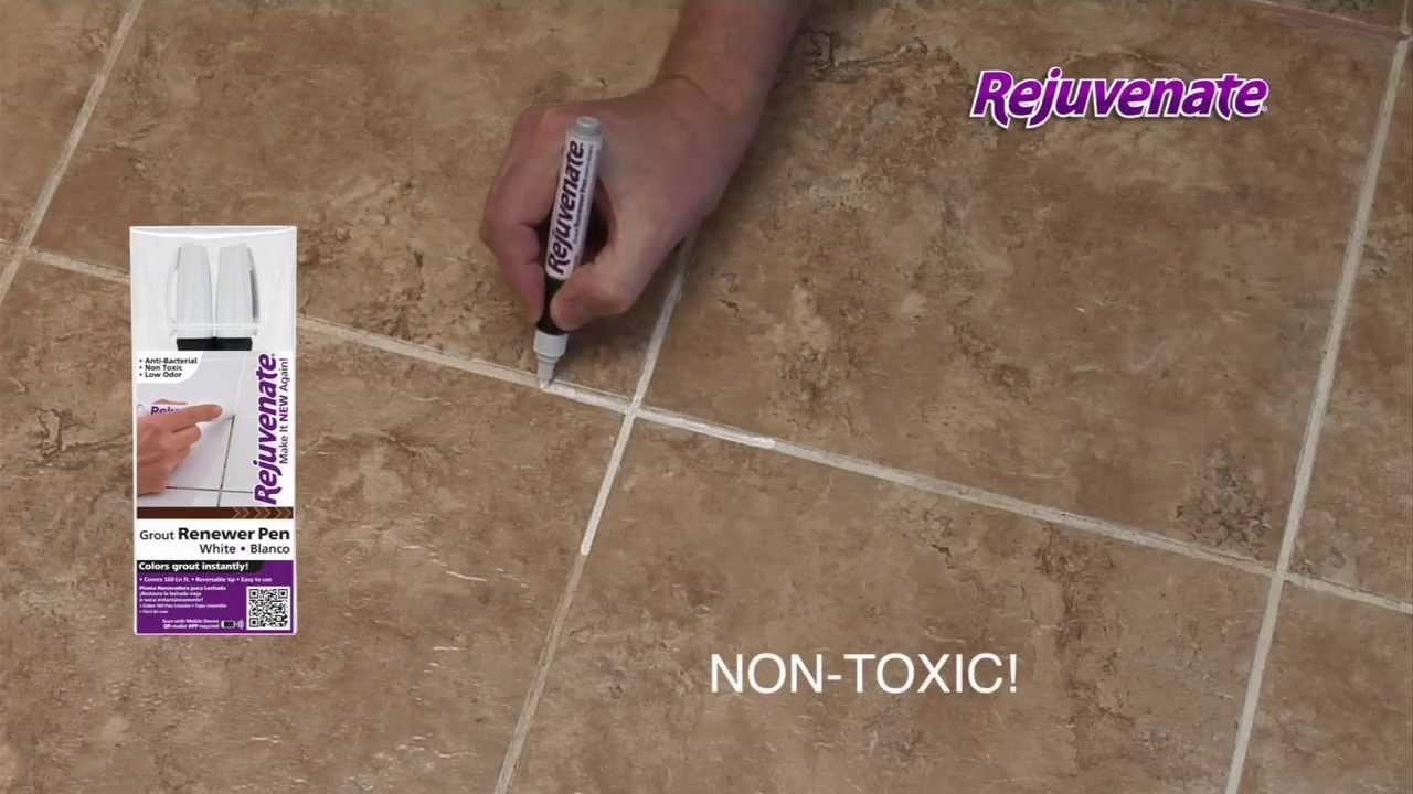 Rejuvenate Grout Marker Pens - YouTube