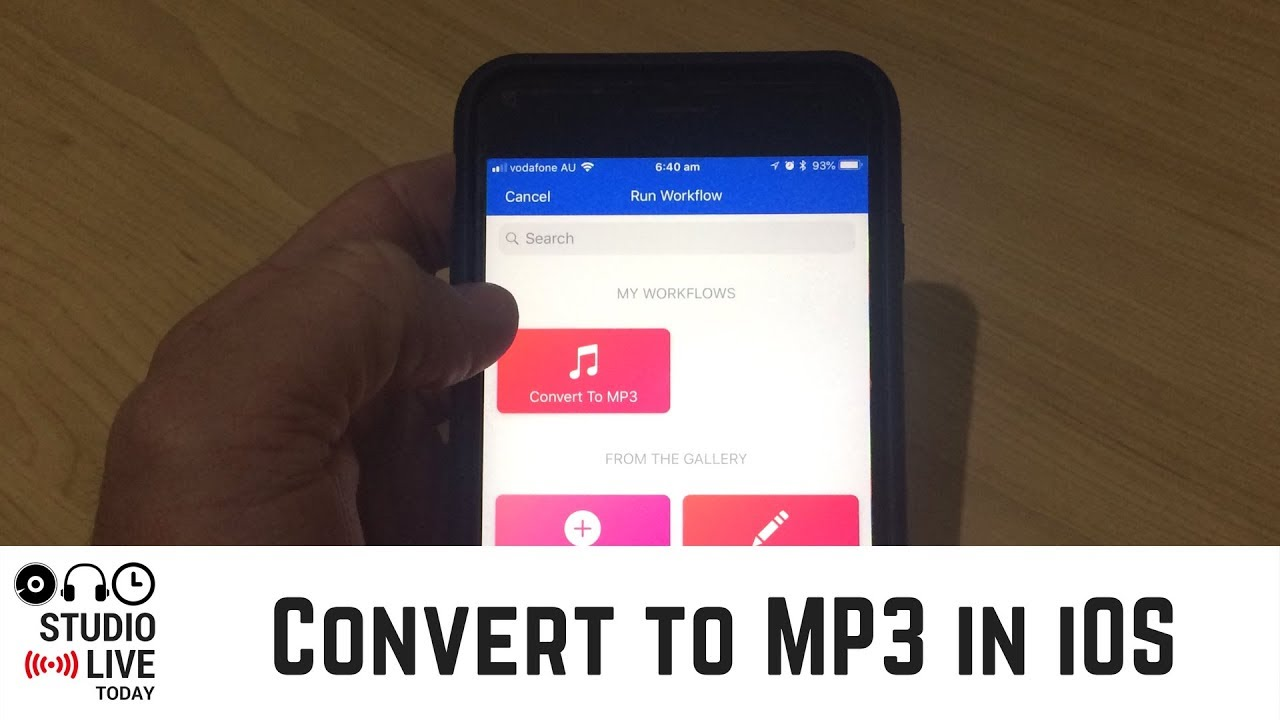 Convert Audio/Video to MP3 on iPhone or iPad - YouTube