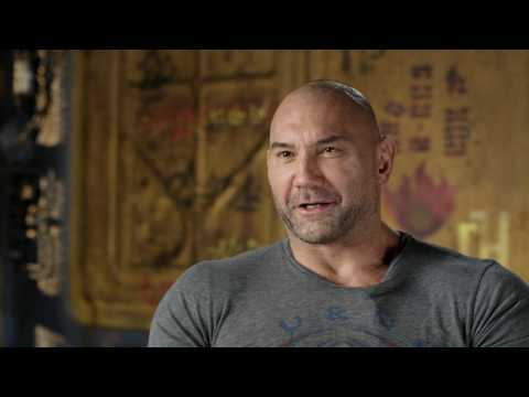 """Guardians of the Galaxy Vol. 2 """"Drax"""" On Set Interview - Dave Bautista"""