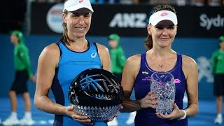 2017 Apia International Sydney Final | Johanna Konta vs Agnieszka Radwanska | WTA Highlights