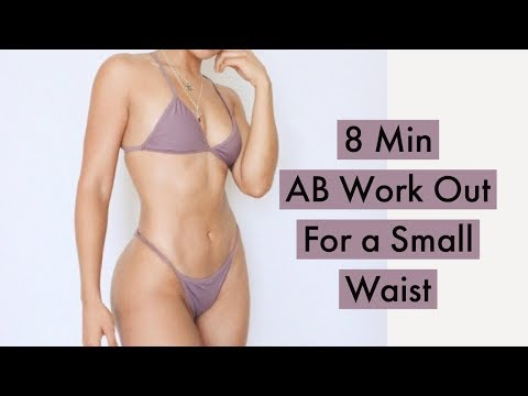 10 Min Ab Work Out - For A Small Waist