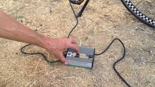 Grid Panel 12V battery 12 to 36V solar lithium ion battery regulator