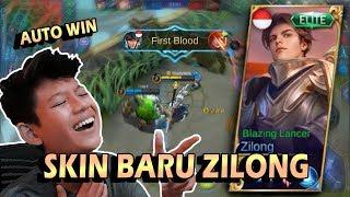 NYOBAIN SKIN BARU ZILONG = MUSUH AUTO LEMAH - Mobile legends indonesia