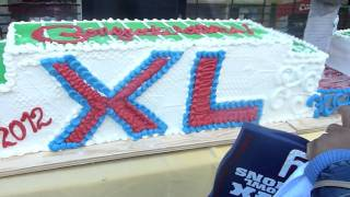 Giants Superbowl Championship Cake