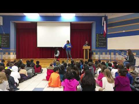 The Wylie Way Award.Groves Elementary School.