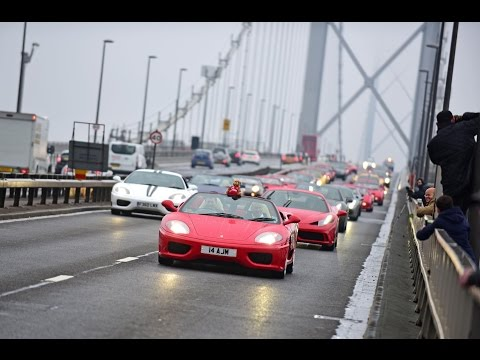 Ferrari Owners Club GB celebrate their 50th Anniversary