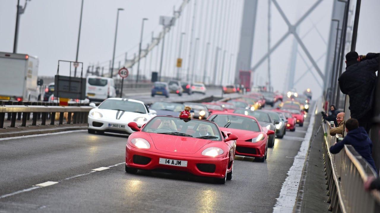Ferrari Owners Club Gb Celebrate Their 50th Anniversary Youtube