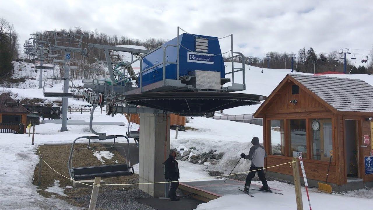 East Quad - Mont Cascades / Doppelmayr Quad Chairlift