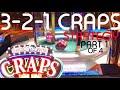 CRAPS LIVE 🎲 3-2-1 CRAPS STRATEGY Adjusted for BUBBLE CRAPS (2-1-0) 🎲 Episode 8 🎲 Part 1 of 4