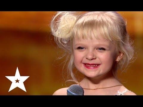 Видео, Рэп про репку от пятилетней Марии - Украна ма талант-6 - Кастинг в Днепропетровске