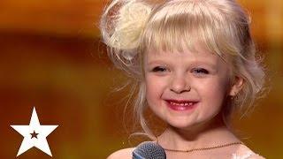Рэп про репку от пятилетней Марии - Україна має талант-6 - Кастинг в Днепропетровске(Мария Пельховская читает рэп про репку на кастинге