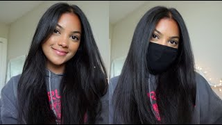 natural back to school makeup (mask friendly)