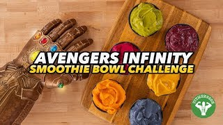 6-Day Avengers Infinity Smoothie Bowl Challenge