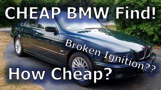 1997 e39 BMW 528 for CHEAP + We Fix It!