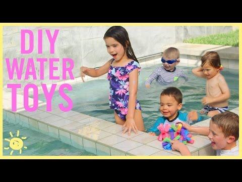 DIY   Water Toys!