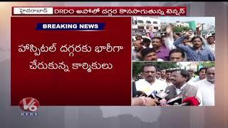 కార్మికులను రెచ్చగొట్టే విధంగా కేసీఆర్ వ్యవకరిస్తున్నారు : BJP Vivek Venkatswamy  Telugu News