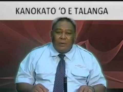 Kanokato e Talanga   Hon  Tevita Lavemaau