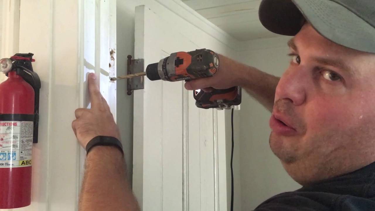 Great Home Fix: Stripped Screws In Hinge On Door   YouTube