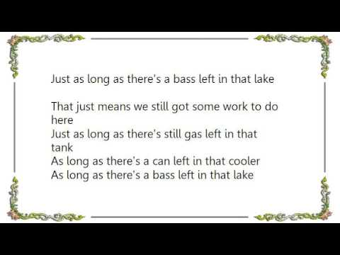 Brad Paisley - Catch All the Fish Lyrics