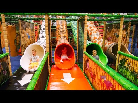 Extra Long Edit: Indoor Playground Fun for Kids at Leo's Lekland