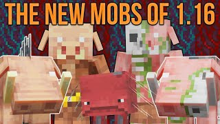 Minecraft 1.16 The New Mobs Of The Nether Update [Minecraft Myth Busting 126]