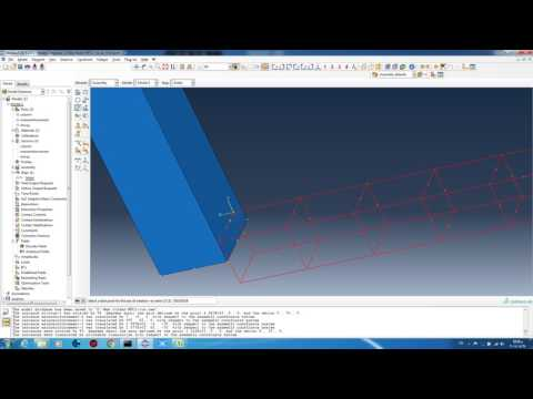 simulating fire effect on reinforced concrete column by ABAQUS
