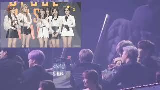 [FULL] BTS REACTION TO GFRIEND EUNHA SPEECH DURING SEOUL MUSIC AWARDS 2018