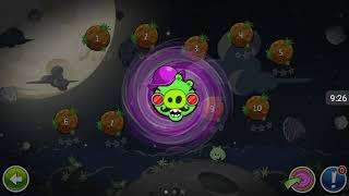Прохождение Angry Birds Space #15 [Планета Pig Bang:Mirror Version *1](+бонус)