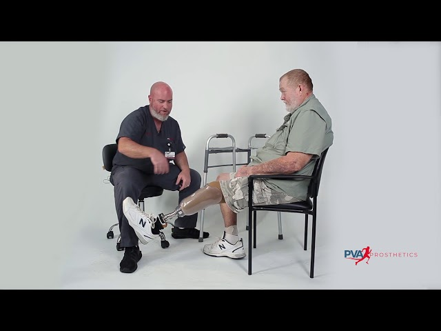 Putting On Your Prosthesis - Spanish