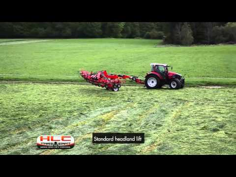 New Kuhn Commercial-Sized Trailed Tedders