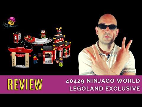Legoland Attraktion für Zuhause! 40429 Ninjago World Legoland Exclusive im Review
