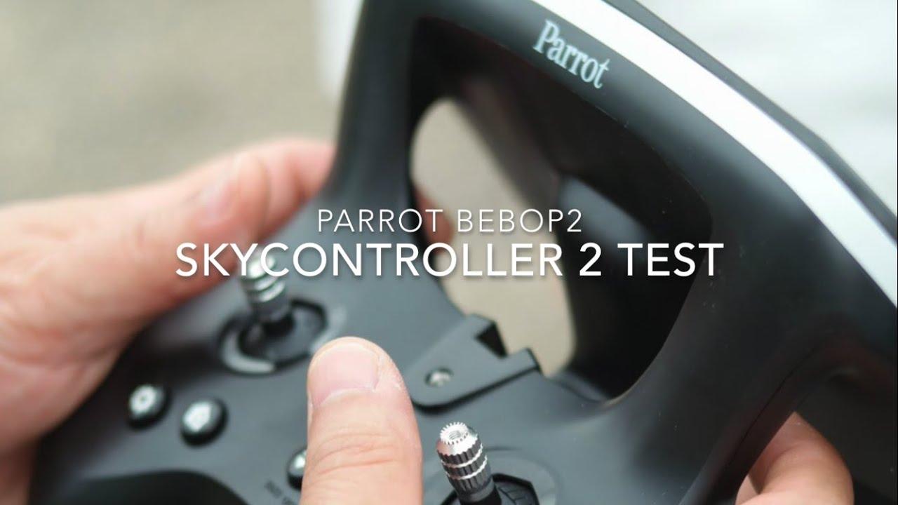 Parrot SkyController 2 Test