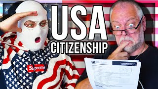 WE TAKE THE USA CITIZENSHIP TEST (GREEN CARD)