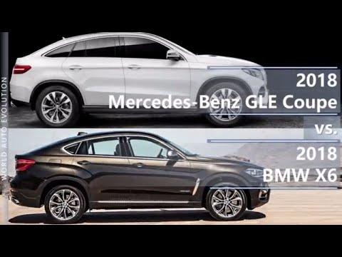 2018 Mercedes GLE Coupe vs 2018 BMW X6 (technical comparison)