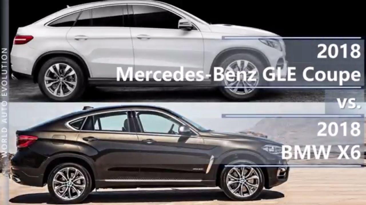 2018 Mercedes Gle Coupe Vs 2018 Bmw X6 Technical Comparison Youtube