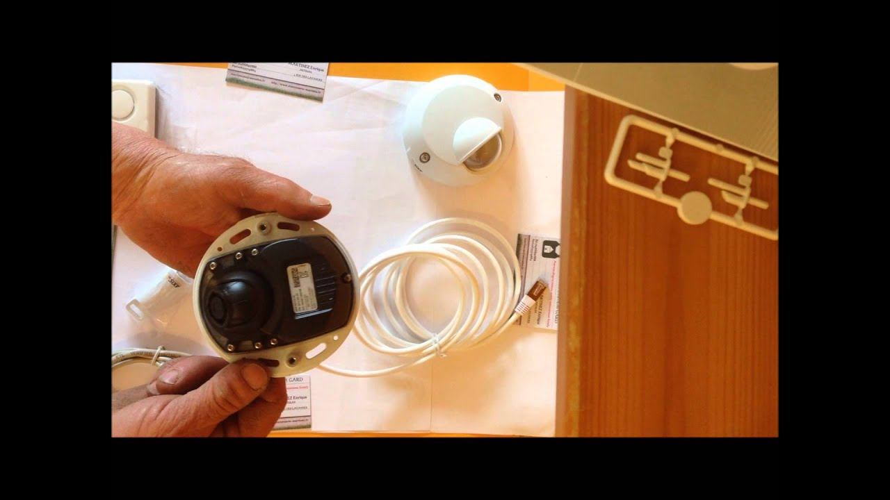 Camera Exterieur Somfy Notice De Montage Caméra Exterieure Axis/somfy - Youtube