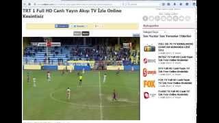 TRT 1 Full HD Canlı Yayın Akışı TV İzle Online Kesintisiz