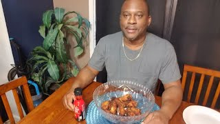 2x Spicy wings challenge with Galen #2x spicy wings challenge # resa richardson
