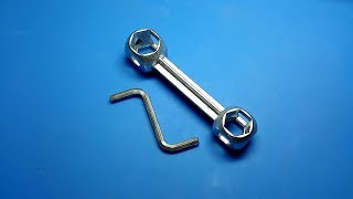 """Ключ """"косточка"""". Бесполезно полезный..."""