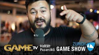 Game TV Schweiz - Interview mit Hakan Pazarcikli | Mitglied der Geschäftsleitung ESTUDIOS | Zürich Game Show