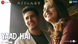 Lae Dooba Video Song | Aiyaary (2018)