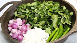 கறவபபல சடன  இபபட சயத பரஙக  Curry leaves Chutney for Idli Dosa  Karuvepillai Chutney