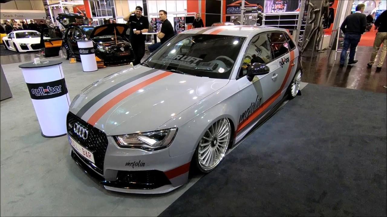 Audi Rs3 Sportback Lowered Tuning Wrap Show Car Walkaround