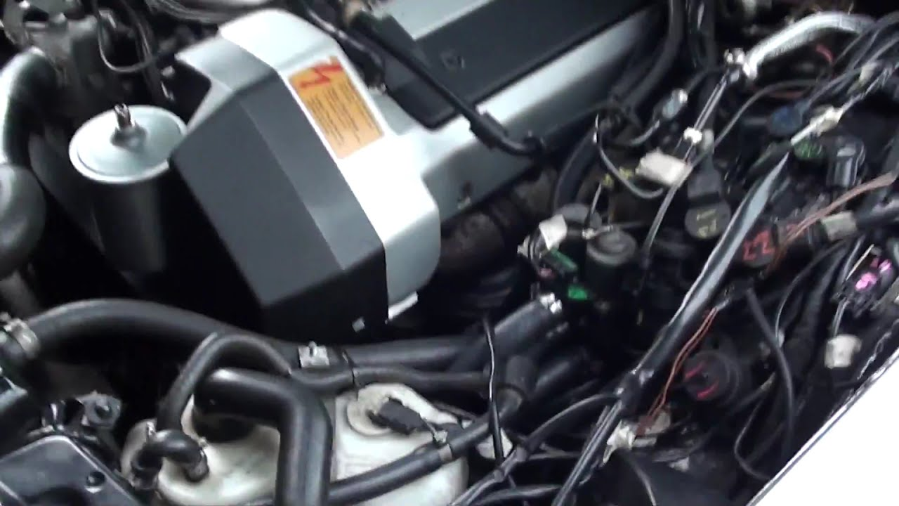 W116 4,2 V8 M119 Engine Sound  Alphaleader 00:29 HD